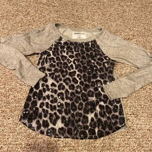 Adorable xs express leopard sweater